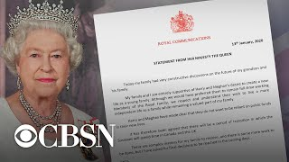 """Queen allows Prince Harry and Meghan to """"transition"""" royal roles"""
