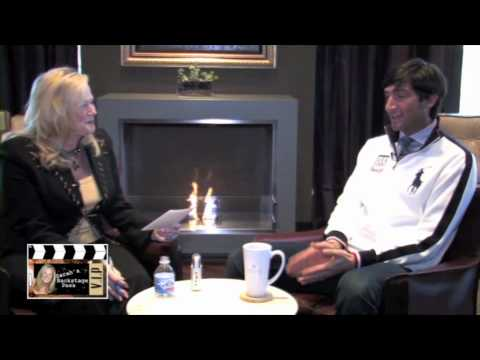 Evan Lysacek Interview with Sarah Adamson