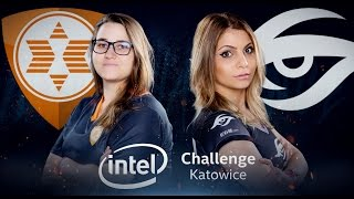CS:GO - Team expert vs. Secret [Cache] Map 1 - Semifinal - INTEL Challenge Katowice 2017