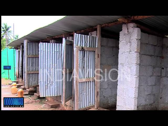 Dirty and filthy labour camp in Eranakulam