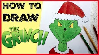 How to Draw the Grinch // Easy Drawing for kids