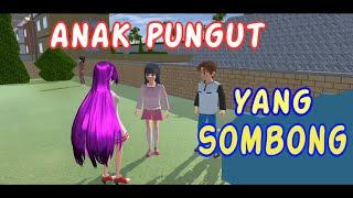 Sakura Drama Anak Pungut Yang SOMBONG | Drama Sakura School Simulator Indonesia | SSS