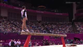Oksana Chusovitina 2012 Olympics QF BB