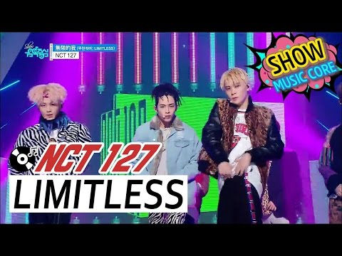 [Comeback Stage] NCT 127 - LIMITLESS, 엔시티127 - 無限的我(무한적아) Show Music core 20170107