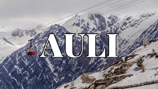 Auli Ropeway Review (with price) | Difference between Auli Ropeway and Ski chair Lift |