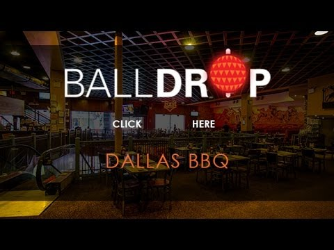 BallDrop.com Presents New Years Eve at Dallas BBQ Times Square - 212-201-0735