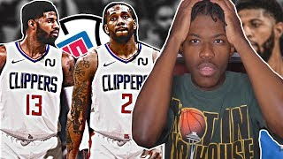 KAWHI TO CLIPPERS AND PAUL GEORGE TRADED *LIVE REACTION*