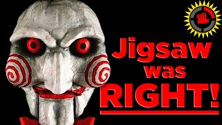 Film Theory: Jigsaw was RIGHT! (Saw Movies)
