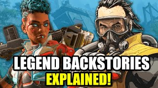Apex Legends The Origin Story For Every Original Legend - Lore Facts, Theory Crafting and More!