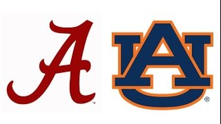2015 Iron Bowl, #2 Alabama at Auburn (Highlights)