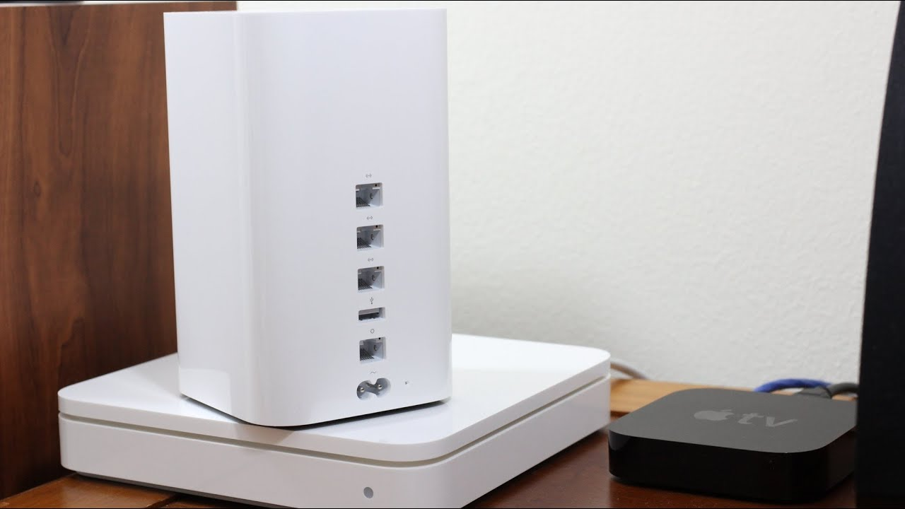 Apple Airport Extreme 2013 Installation Tutorial Youtube
