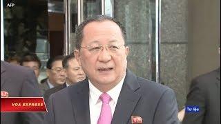 Ngoại trưởng Triều Tiên tới VN 'học hỏi' cải cách kinh tế (VOA)
