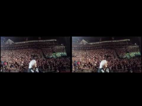 @DrBrianMay Selfie Stick Video |3D| Las Vegas, USA [June 24, 2017] Queen + Adam Lambert