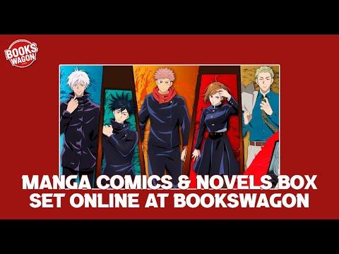 Buy The Best Cheap Manga Comic & Novels Box Set Online at Bookswagon
