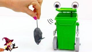 Hacemos un Robot Basurilla que Cuidará de un Ratoncito