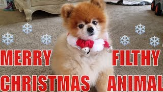 GREAT WOLF LODGE FAM TIME w/ POLAR EXPRESS & A CUTE DOG!! :))