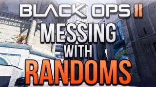 Black Ops 2 - Messing with Randoms #8! (Trolled By Girl and Terrible Rap Battle!)