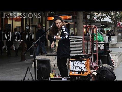 Live Sessions - Tash Sultana @ Melbourne City