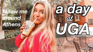 a typical day in my life at UGA (college vlog)
