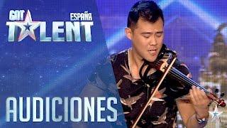 Javi Lin y su violín | Audiciones 3 | Got Talent España 2016