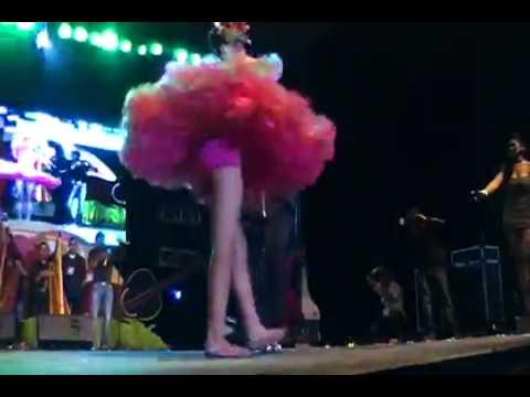 Reina Internacional del JOROPO 2011-2012 baila joropo