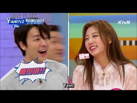 Donghae And Yein Moment On Super TV S2