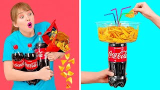 EASY HACKS WITH SIMPLE THINGS    Funny Life Hacks For Any Occasion by 123 GO!