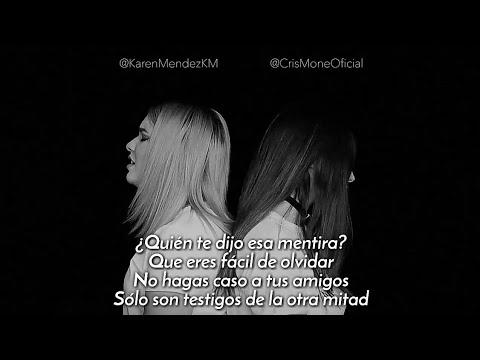 Karen Méndez ft. Cris Moné - Besos en Guerra (Cover Morat, Juanes) (Letra)