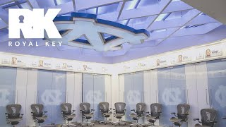 We Toured the North Carolina Tar Heels' Sneaker-Filled Basketball Facility | Royal Key