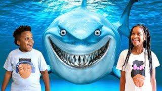 Shasha and Shiloh GO IN THE OCEAN!! - Onyx Kids