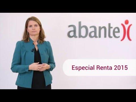Especial renta 2015 · www.abanteasesores.com