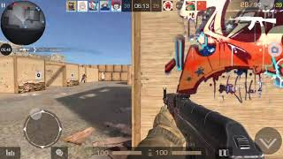 CSGO Mobile w/ noob gameplay (Standoff 2)