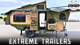 Top 10 New Trailers and Off-roading Caravans for Extreme Camping Trips