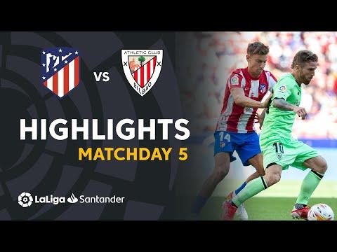 ⚽ HIGHLIGHTS I Atlético Madrid 0-0 Athletic Club I LaLiga 21-22 Matchday 5
