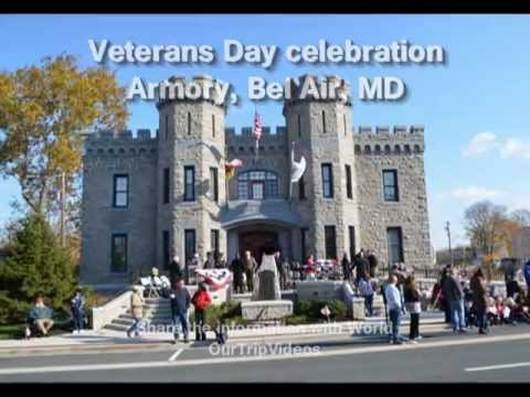 Pictures of Veterans Day Parade and celebration - Bel Air Armory, Bel Air, MD, US