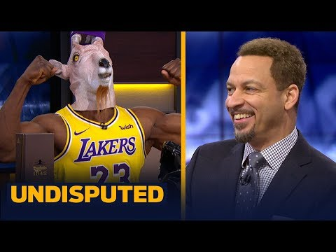 Chris Broussard was 'very surprised' with the Lakers' 129-128 win vs the Celtics   NBA   UNDISPUTED
