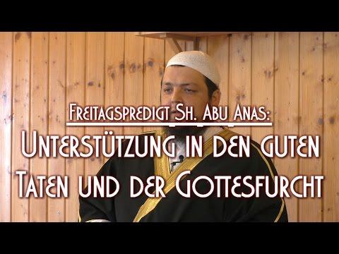UNTERSTÜTZUNG IN DEN GUTEN TATEN UND DER GOTTESFURCHT mit Sh. Abu Anas am 19.06.2015 in Braunschweig