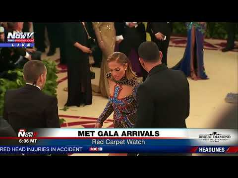 STAR COUPLE: Jennifer Lopez, A-Rod arrive at Met Gala (FNN)