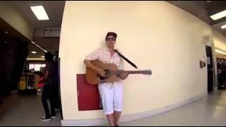 Amazing solo jam turns into two strangers rocking
