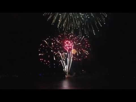 Fireworks at Big Bear Lake 2016