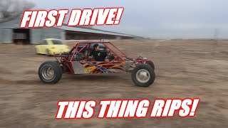 FIRST DRIVE In Our Honda V6 Powered Dune Buggy!