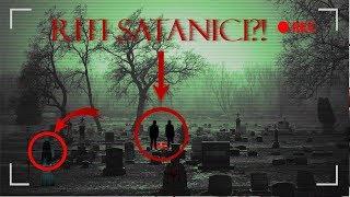 Abbiamo Ripreso RITI SATANICI in un CIMITERO DI NOTTE!? *inquietante* | XP4ckard™
