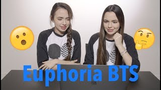 BTS Euphoria Reaction and Theories?