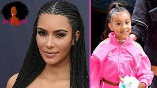 Why Does Kim Kardashian Cornrow Her Hair But STRAIGHTEN Her Daughter North West's Hair?
