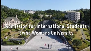 Ewha Admission for International Students