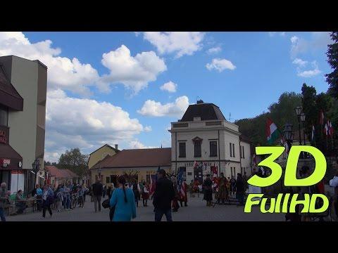 [3D] Tokaj, Hungary / Magyarország / Węgry