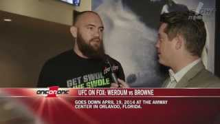 Travis Browne on his potential title fight against Cain