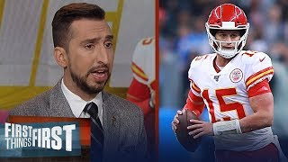 Chiefs didn't play well on either side of the ball vs Chargers | NFL | FIRST THINGS FIRST