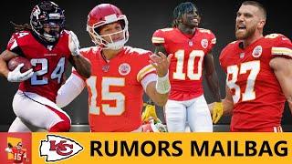Chiefs Rumors: Sign Devonta Freeman? Patrick Mahomes NFL Top 100? Travis Kelce vs. Tyreek Hill | Q&A