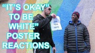 """Snowflakes React to """"IT'S OKAY TO BE WHITE"""" Flyer"""